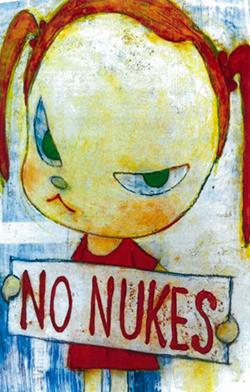 No Nukes girl