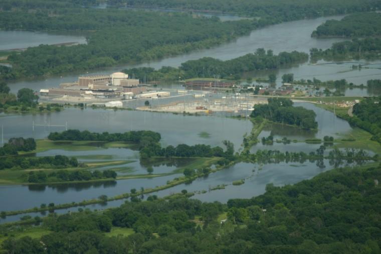 La centrale nucléaire de Fort Calhoun a les pieds dans l'eau !