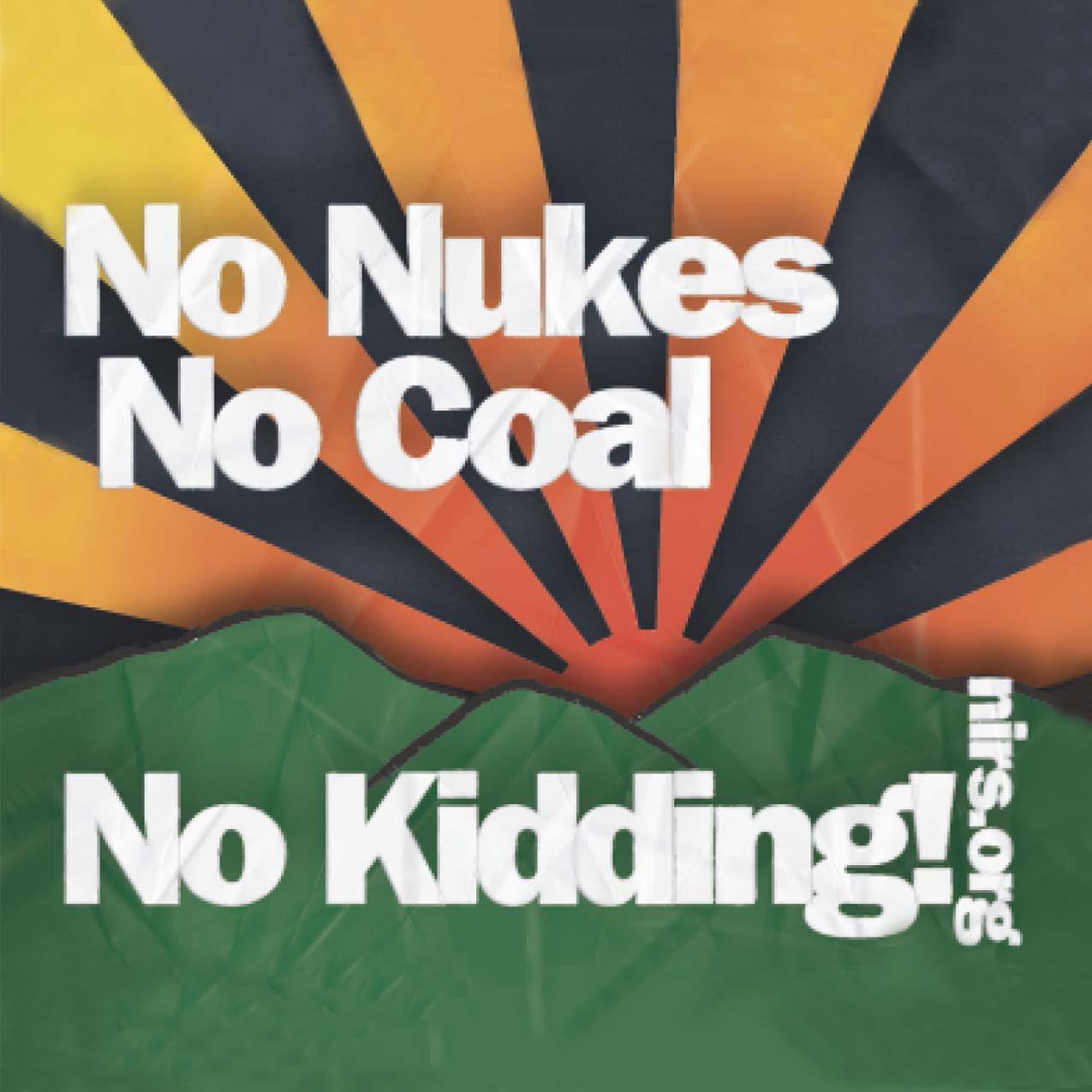 no nukes no coal