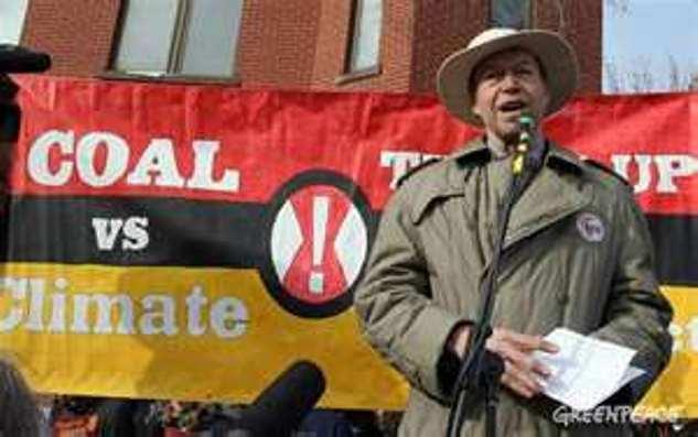 James Hansen. A tireless climate campaigner, but no energy expert...