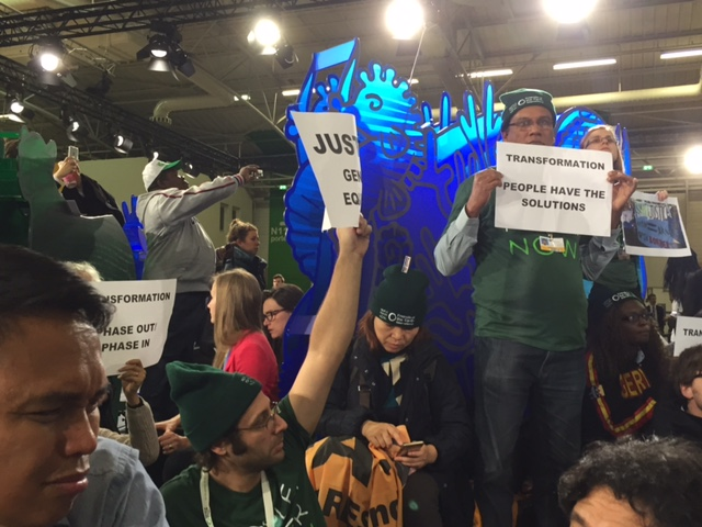 Climate justice advocates break through at COP 21: We are unstoppable!