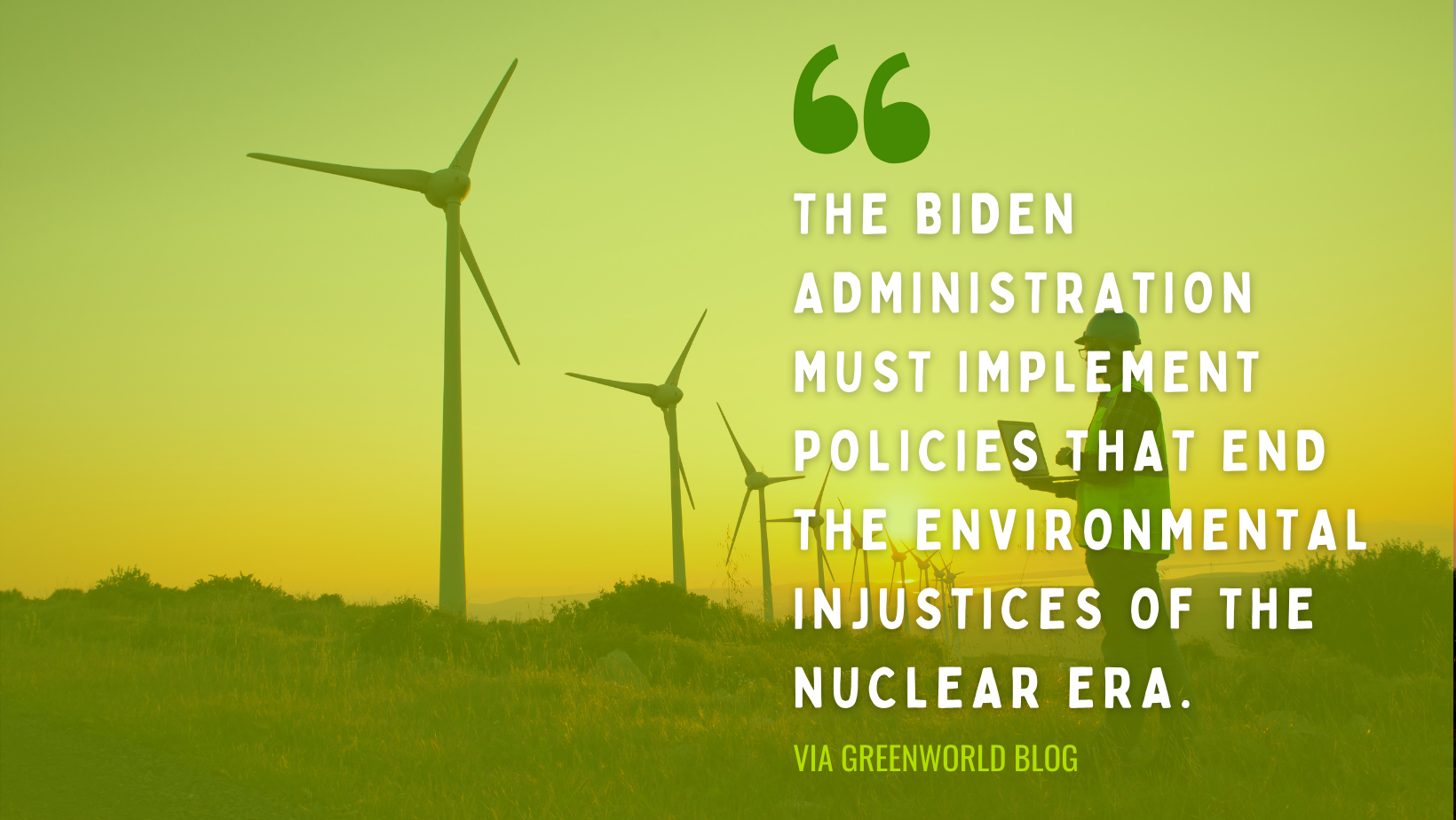 Environmental Justice quote